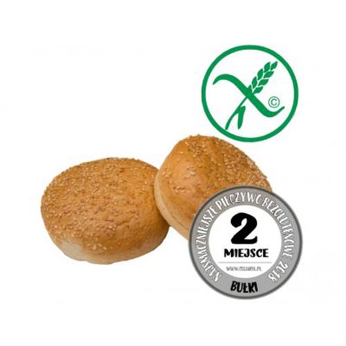 BEZGLUTENOWA Bułka do hamburgera 170g (2szt.)