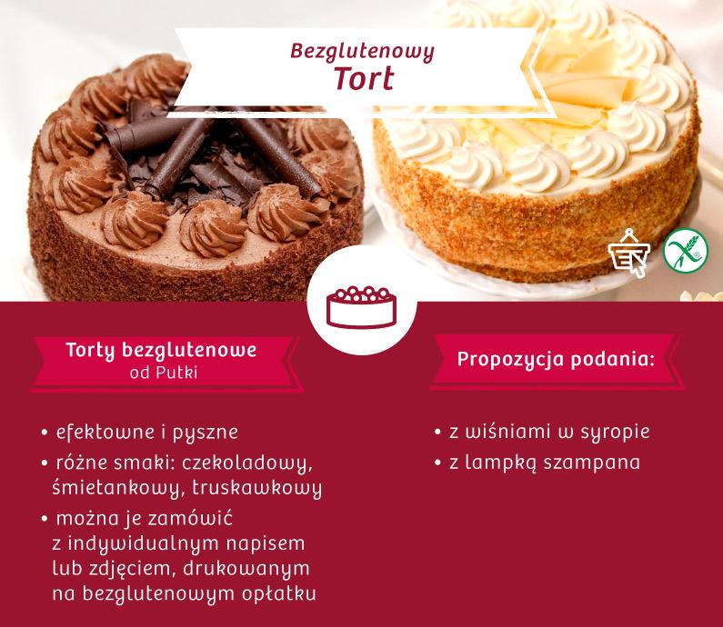 Bezglutenowy tort