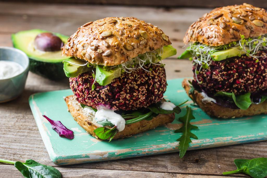 Przepis na burgera wegetariańskiego